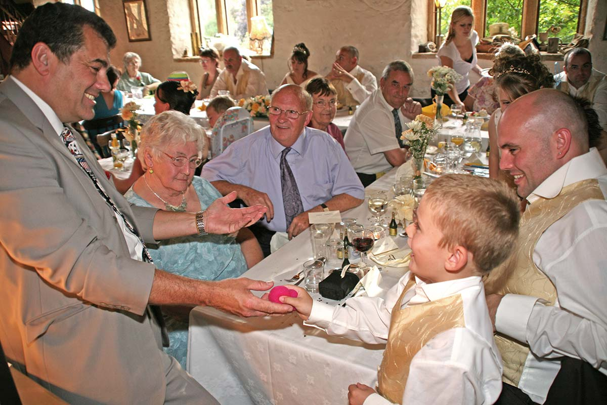 wedding magician in bristol