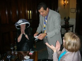 Wedding magician in the South West