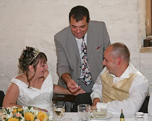 Wedding magician in Cardiff