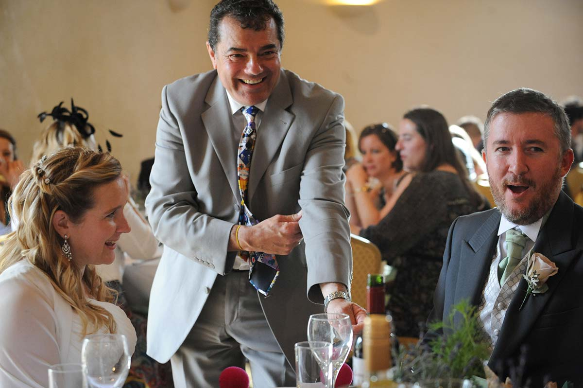 Wedding magician Bristol
